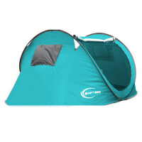 户外全自动帐篷3-4人双人2人家庭露营野营野外自驾游帐篷