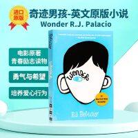 现货Wonder书奇迹男孩英文原版小说 R.J. Palacio青春励志书籍纽约时报畅销书国外进口英语原版书籍全英文版