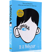 【现货包邮】 奇迹男孩 英文原版小说 Wonder R.J. Palacio青春励志书籍纽约时报畅销书国外进口英语原版书