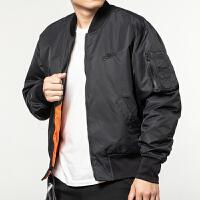 Nike耐克男�b�\�与p面穿棉服保暖�A克外套AR2184-012