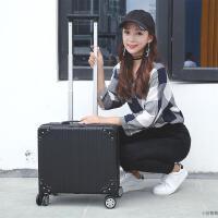 登机箱小型行李箱16小尺寸拉杆箱商务拖箱包旅行箱男女18密码箱子 18寸(加容设计)