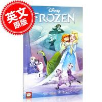 现货 冰雪奇缘 内心的英雄 英文原版 青少年漫画小说 迪斯尼同名电影 Disney Frozen: The Hero