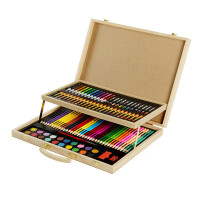 儿童画笔套装画画工具小学生水彩笔美术学习文具绘画用品