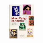 现货 TASCHEN原版 Menu Design in America 美国菜单设计 广告海报平面设计 复古菜单菜谱设