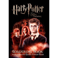 """Harry Potter and the Order of the Phoenix"": Colouring Book ""哈利波特与凤凰令"":涂色书 9781405903370"