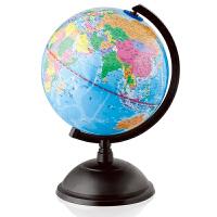 【满200减100】得力地球仪3033 标准学生教学版地球仪20cm学生文具地球仪摆件 世界地球仪 学生地球仪 初中生