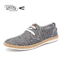 Camel Active/骆驼动感男鞋低帮系带潮鞋韩版帆布鞋百搭休闲鞋