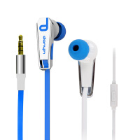 声籁  电音WP160 手机双色面条式入耳式耳塞耳机重低音通用