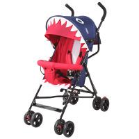 呵宝婴儿推车夏超轻便携可坐可半躺伞车儿童手推车折叠简易宝宝车
