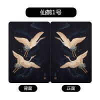 仙鹤艺术苹果新版iPad air/2保护套mini4皮套迷你1创意休眠7外壳8