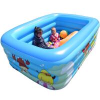 儿童游泳池充气家庭婴儿洗澡桶成人家用宝宝加厚小孩超大号戏水池