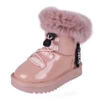 儿童棉鞋大棉宝宝靴子儿童短靴防滑防水保暖