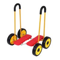 幼儿园感统教学健身3岁玩具儿童平衡脚踏踩踏车四轮滑板行扭扭车