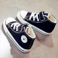 儿童帆布鞋女童小白鞋男童板鞋布鞋子百搭