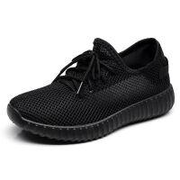 夏季新款鞋女鞋跑步鞋透气网鞋韩版平底网面学生百搭单鞋