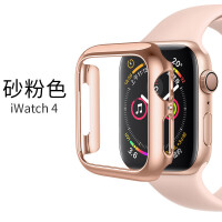 适用apple watch4保护套苹果4代手表保护壳iPhone watch4硅胶电镀4