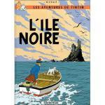 法语原版 丁丁历险记 黑岛 Tintin - Tome 7 Petit format : L'?le noire 法语