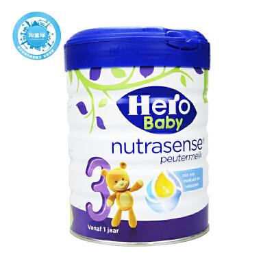 保税区直发 荷兰Hero Baby美素白金版奶粉3段 700g日期新鲜