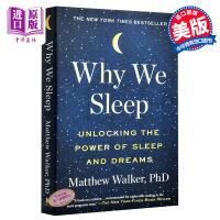 【中商原版】我们为什么睡觉?英文原版 Why We Sleep Power of Sleep and Dreams Matthew Walker 意识、睡眠与大脑