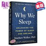 【中商原版】我们为什么睡觉?英文原版 Why We Sleep Power of Sleep and Dreams M