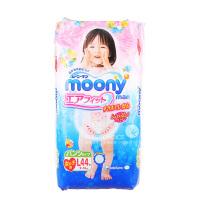 Moony 日本穆尼婴儿拉拉裤L码44片 女宝宝专用(海外购)