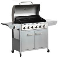 商用大型别墅烧烤炉户外燃气烧烤架庭院烤肉炉家用烤肉烧烤箱