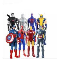 钢铁侠 美国队长 玩具人偶 可动手办 模型 爱国者12寸可动人偶