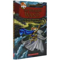 Geronimo Stilton The Wizard's Wand 老鼠记者幻想王国系列桥梁书#9 男巫的魔杖 儿童