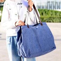 女包帆布包女士包手提包单肩包大容量时尚休闲大包包