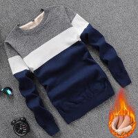 男士长袖T恤男衣服针织纯棉修身打底衫男装秋衣圆领秋季上衣毛衣G