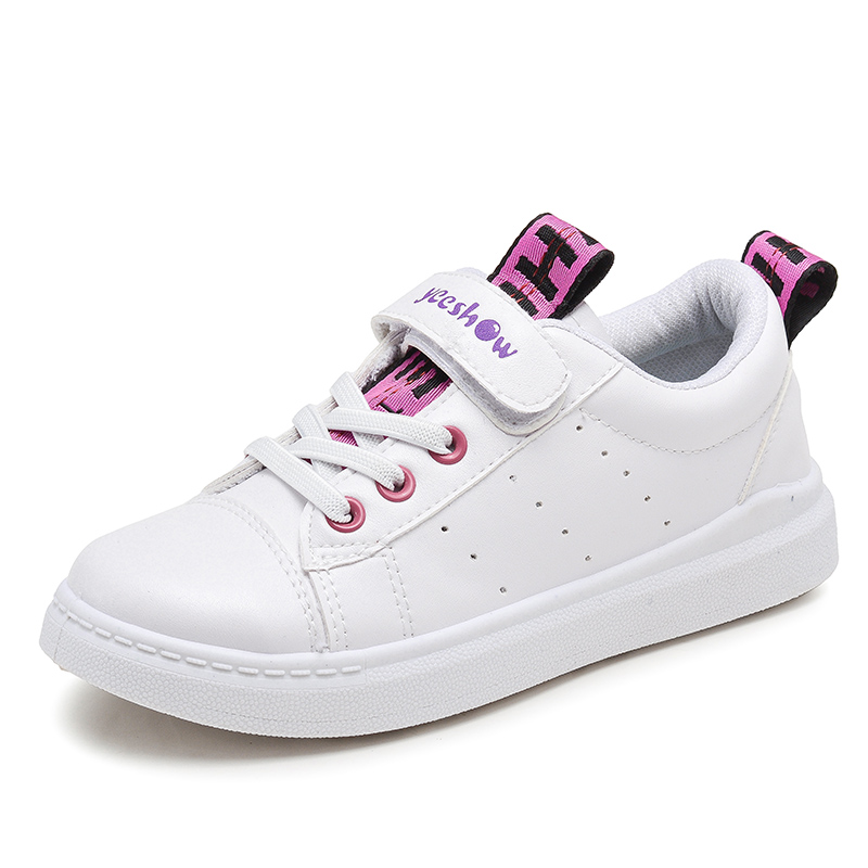 童鞋女童鞋小白鞋儿童运动鞋秋冬季2018新款秋季鞋子男童加绒棉鞋