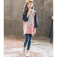 童装女童秋装套装儿童洋气两件套秋季大童时髦潮衣服