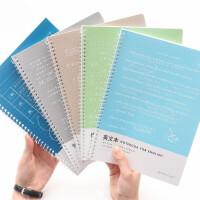 巨门学科单圈线圈笔记本 16K英文本/几何本/作文本/练习本 40页