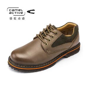 Camel Active/骆驼动感 男士休闲鞋大头皮鞋男工装鞋男鞋子潮流鞋