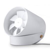 USB风扇智能触控小风扇双扇叶迷你宿舍桌面电扇