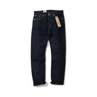 Levis/李维斯新款男士修身直筒水洗牛仔裤长裤