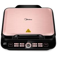Midea美的电饼铛JCN2725A 双面加热 智能悬浮 速脆技术方形煎烤机