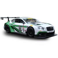 跑车宾利GT3赛车 仿真合金汽车模型收藏金属玩具