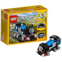 [当当自营]LEGO 乐高 Creator创意百变系列 蓝色小火车 积木拼插儿童益智玩具31054