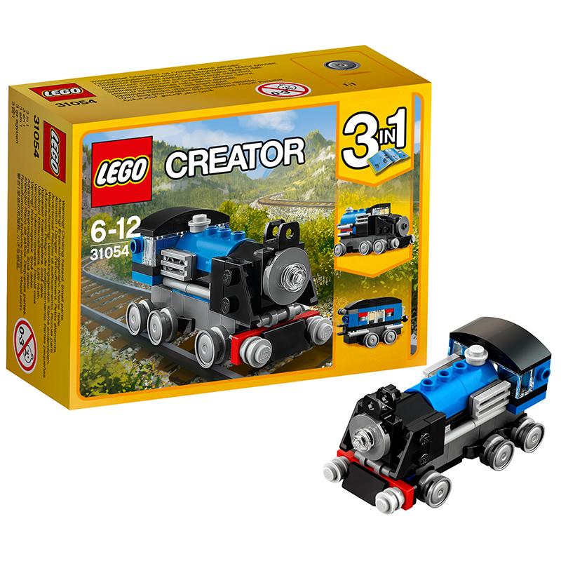 [当当自营]LEGO 乐高 Creator创意百变系列 蓝色小火车 积木拼插儿童益智玩具31054 【当当自营】适合7-14岁,71pcs小颗粒积木