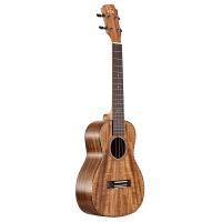 UKU 尤克里里23寸 玫瑰木包边 圆角26寸相思木ukulele乌克丽丽小吉他