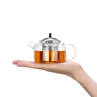 尚明新品功夫茶壶套装耐热玻璃茶壶过滤 加厚玻璃功夫茶具泡茶壶 T108 T107