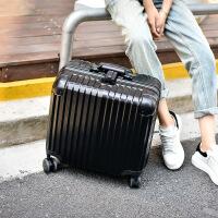 2018新款行李箱万向轮铝框拉杆箱18寸女迷你电脑箱密码旅行箱小登机箱20