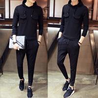 秋冬男装运动套装卫衣青少年男士套装韩版长袖秋季长裤两件套