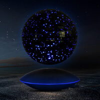 磁悬浮地球仪自转发光大号6寸8寸摆件创意家居送朋友同事生日礼物