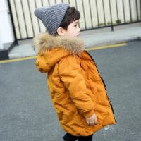 男童棉衣童装冬装男孩棉袄宝宝小童外套