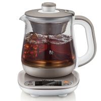小熊(Bear)煮茶器 全自动养生壶加厚玻璃多功能黑茶花茶 YSH-A08N5