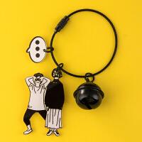 钢丝绳情侣钥匙扣挂件创意个性可爱男女汽车锁匙扣链圈环书包挂饰
