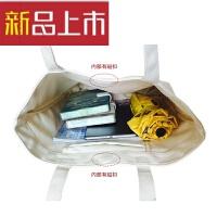 日韩单肩帆布包手提包购物袋男女休闲文艺托特包潮牌