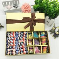 糖果 糖果大礼包零食送女友男生闺蜜大白兔奶糖创意喜糖礼盒装情人节生日糖果圣诞节礼物